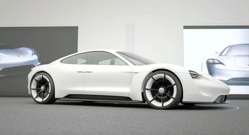 Porsche Mission E - the design of the concept study (3)