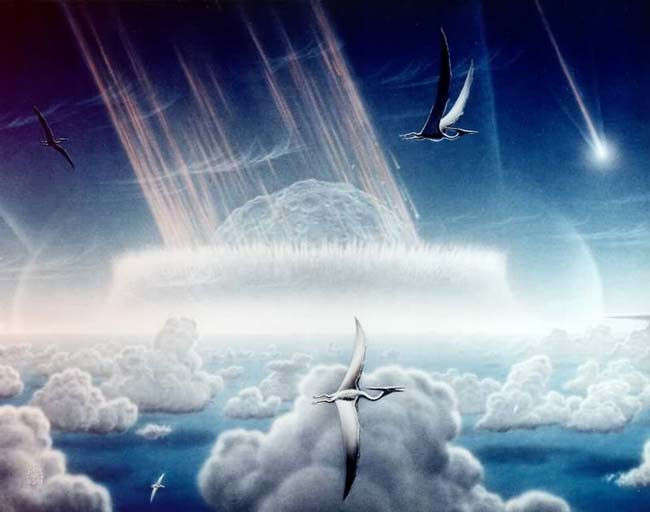 The Asteroid that wiped out dinosaurs