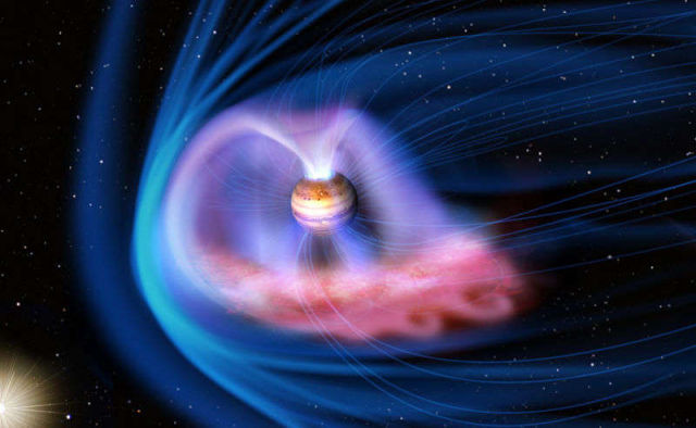Solar Storms ignite Auroras on Jupiter