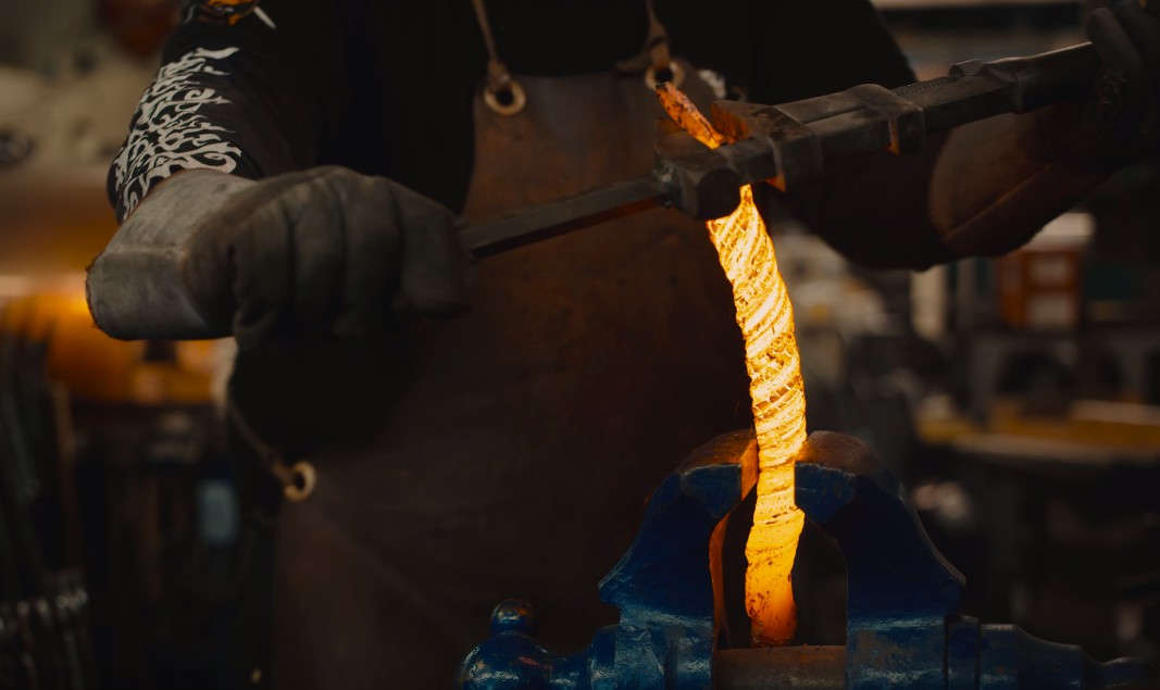 The Making of a Damascus Steel Sword
