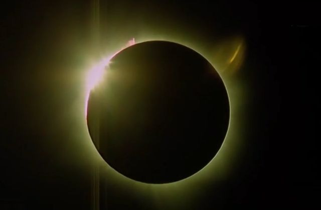 The Solar Eclipse on March 8