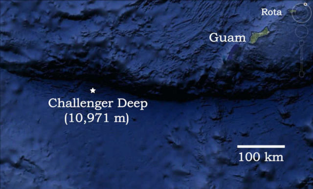 The first terrifying audio recordings from Deepest Ocean place