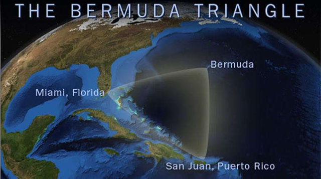 The mystery of the Bermuda Triangle has been revealed