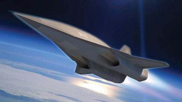 Lockheed Martin's SR-72 new hypersonic aircraft