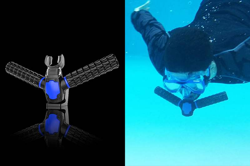 Triton Oxygen diving mask concept | wordlessTech