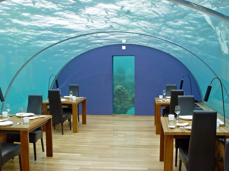 World's Largest underwater Restaurant