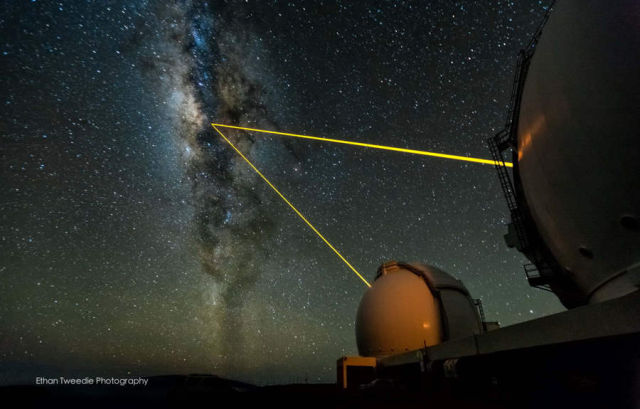 A laser cloaking device could hide our planet from Aliens 1
