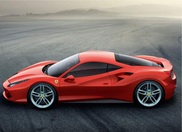 Ferrari 488 GTB wins the Red Dot award