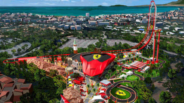 Ferrari is planing Theme Park for the U.S