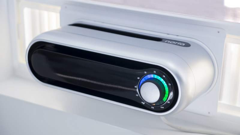 Noria first compact window air conditioner (6)