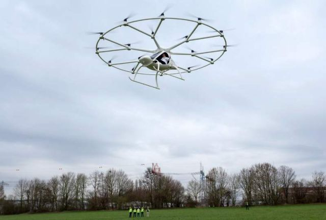 Electric Volocopter VC200