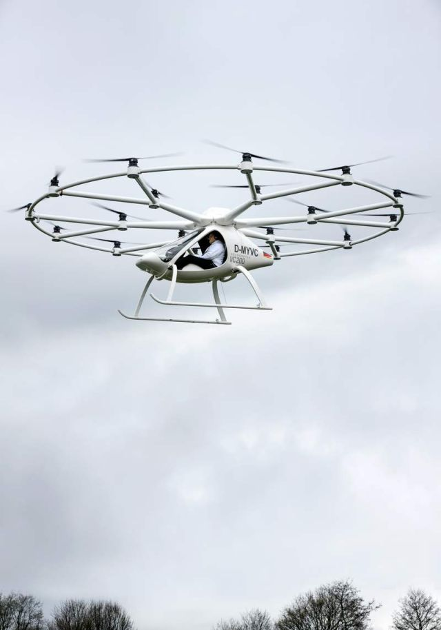 Electric Volocopter VC200 (1)