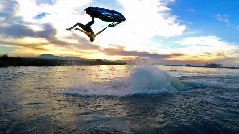 Freestyle Jet Ski amazing Tricks
