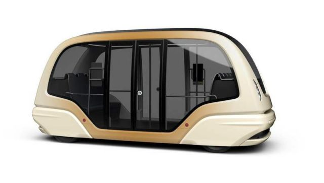 Futuristic driverless pods for Singapore's roads
