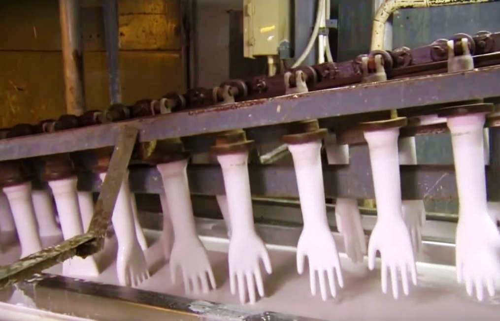 How Rubber Gloves are made