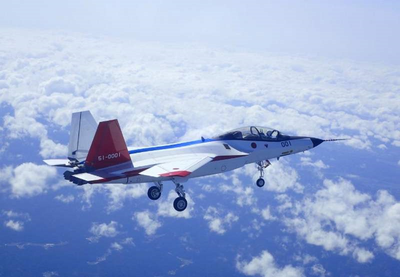 Japan's X-2 Stealth Jet makes first flight