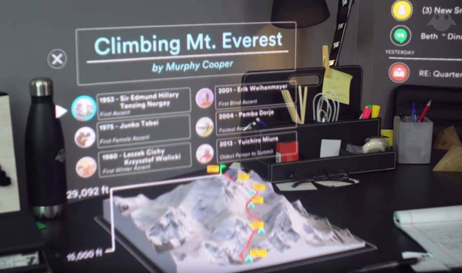 Magic Leap's 'mixed reality' new tech