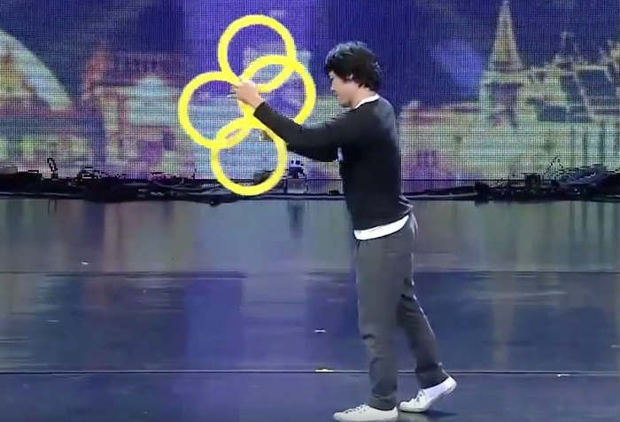 Magic Rings Illusion at Thailand