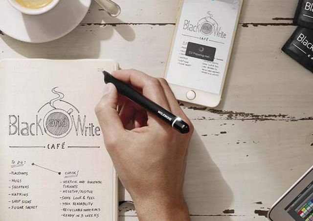 Moleskine's Smartpen Digitizes your Notebooks