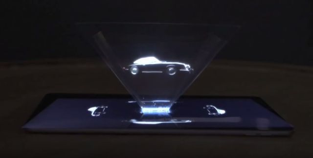 Porsche creates Hologram Ad for 911