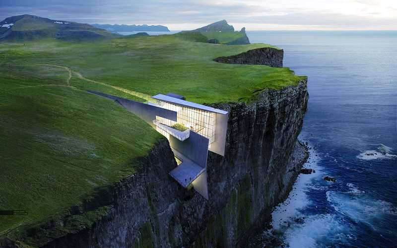 Retreat in a remote Icelandic clifftop by Alex Hogrefe (6)