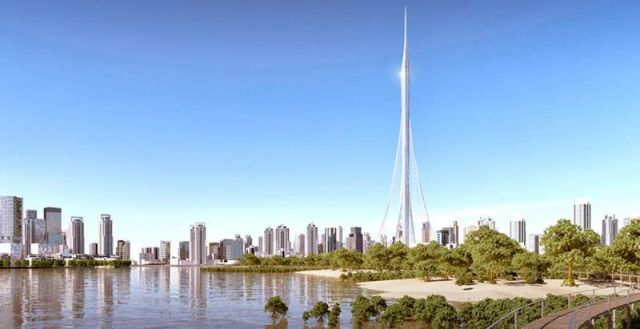 Santiago Calatrava's world's Tallest Tower (2)