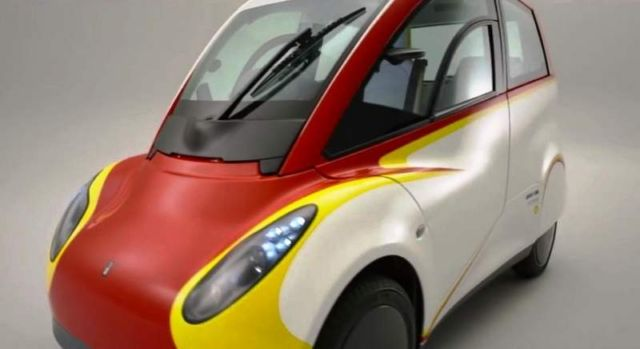 Shell Project M concept city car