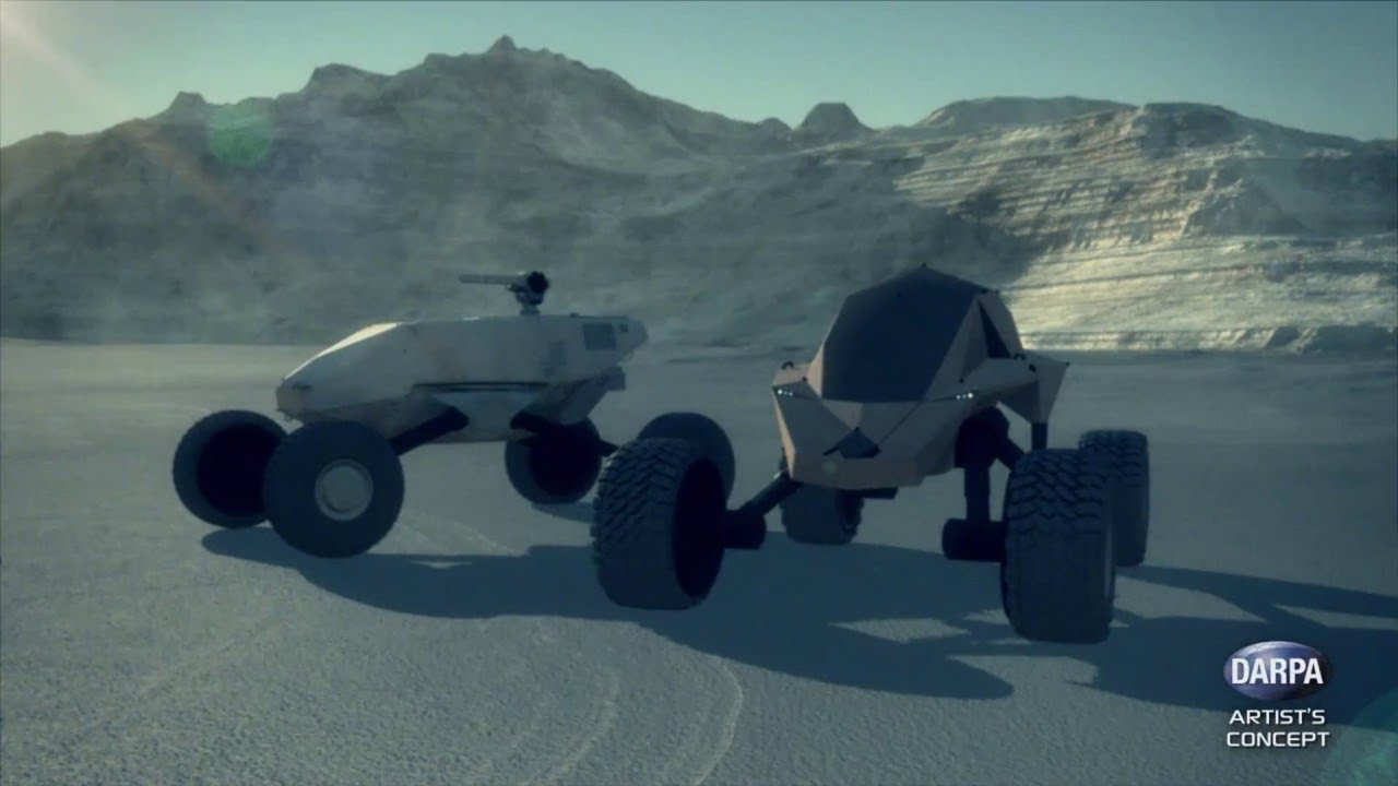 Smart, fast all terrain unmanned armored vehicles (1)