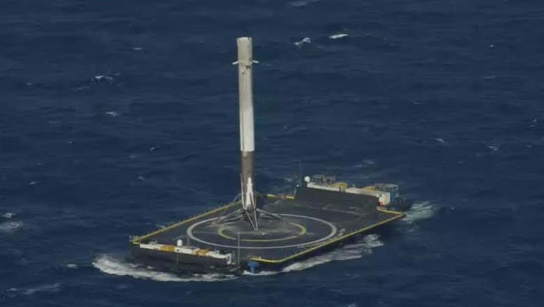 SpaceX Falcon 9 - successful Drone Ship Landing
