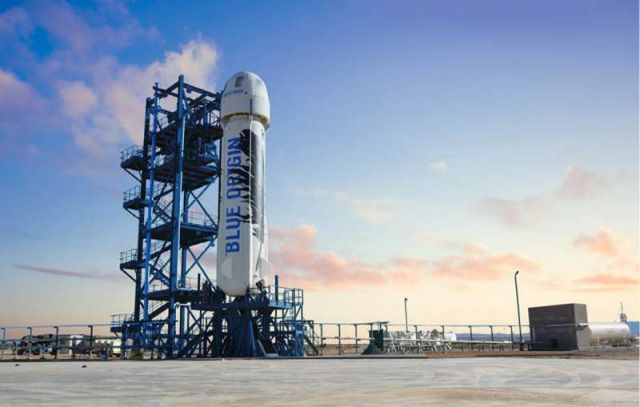 Blue Origin reusable rocket