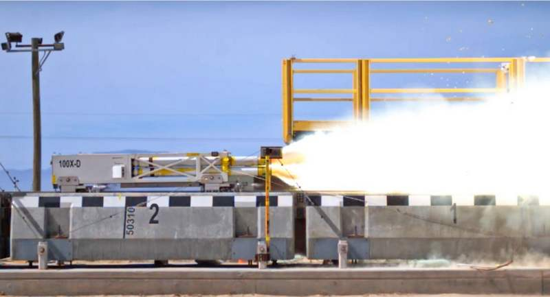 US Air Force breaks MagLev speed record