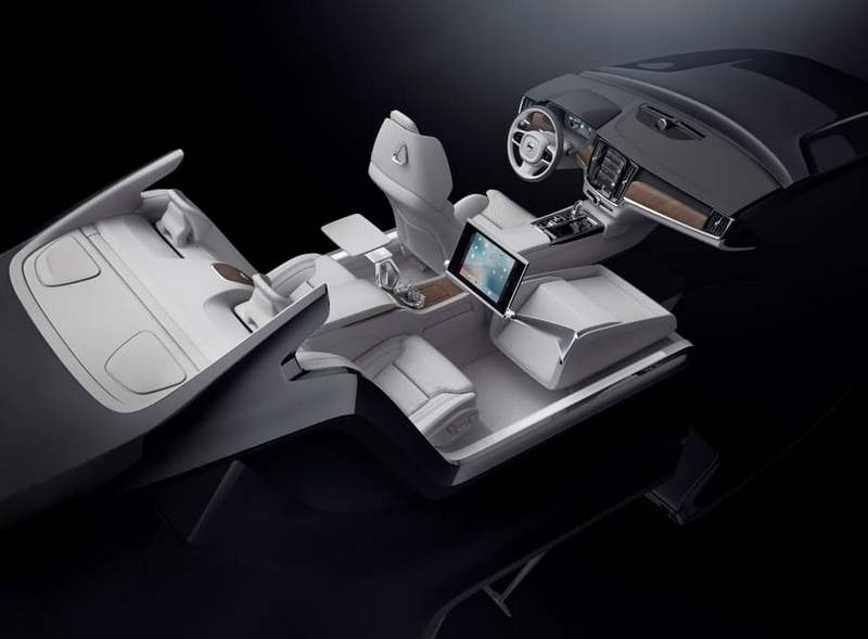 Volvo S90 Excellence Lounge Console (10)