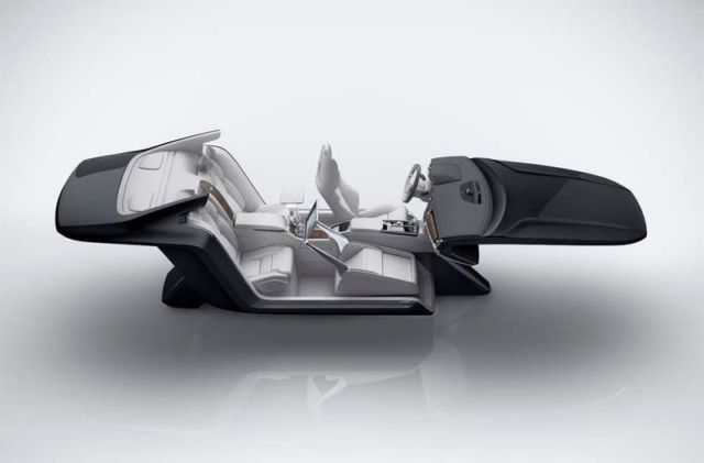 Volvo S90 Excellence Lounge Console (3)