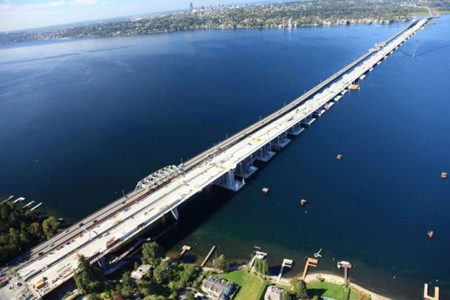 World's longest Floating Bridge