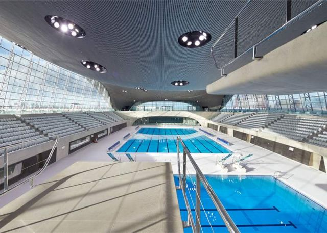 London Olympic Aquatics Centre. Photograph by Hufton + Crow