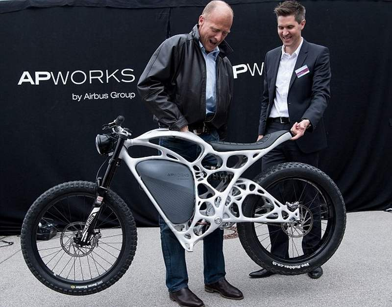 Airbus Unveils 3d Printed Electric Motorcycle Wordlesstech