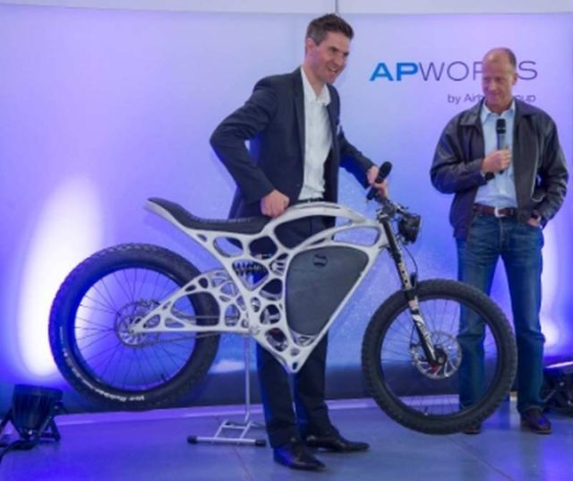 Airbus Light Rider 3D-printed electric motorcycle