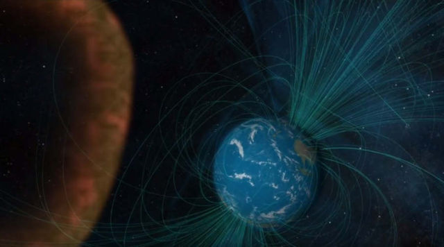 Earth's Magnetic Reconnection in Action