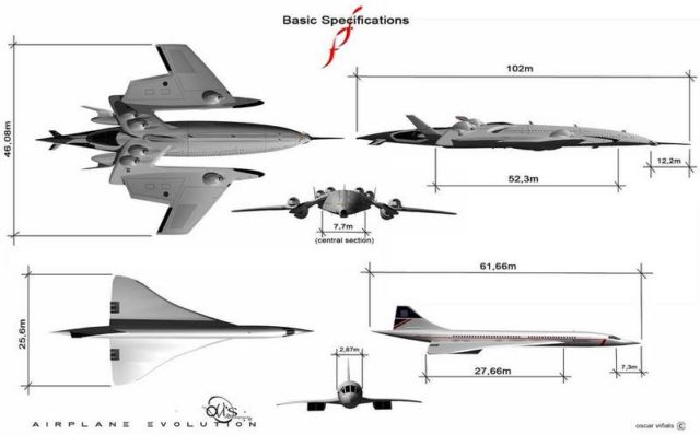 FF Flash Falcon Supersonic concept (2)