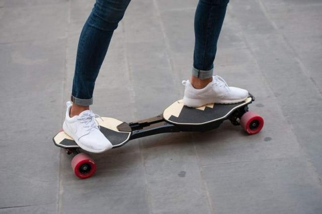 Foldable Electric Longboard (7)