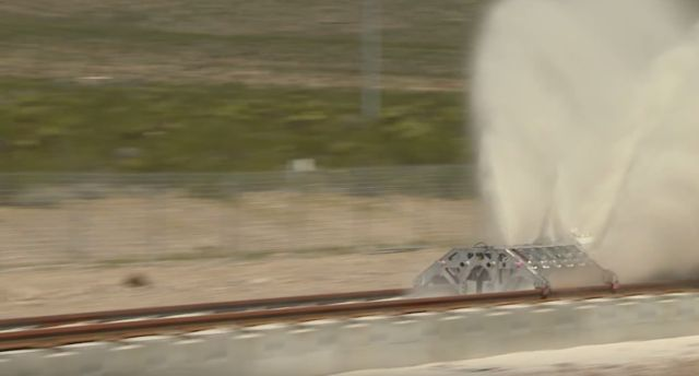 Hyperloop One - run Propulsion Test