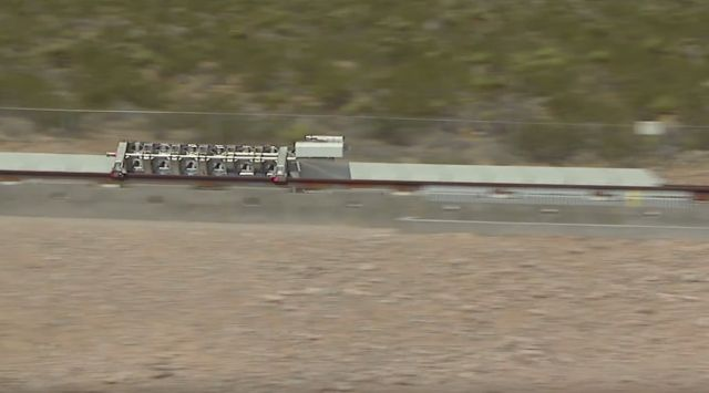Hyperloop One - successfully run Propulsion Test