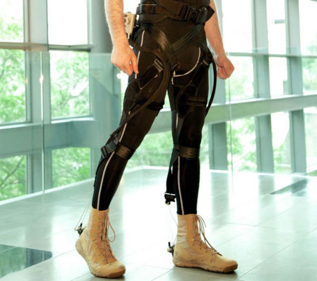 Lightweight, Wearable Exosuit for patients with limited mobility