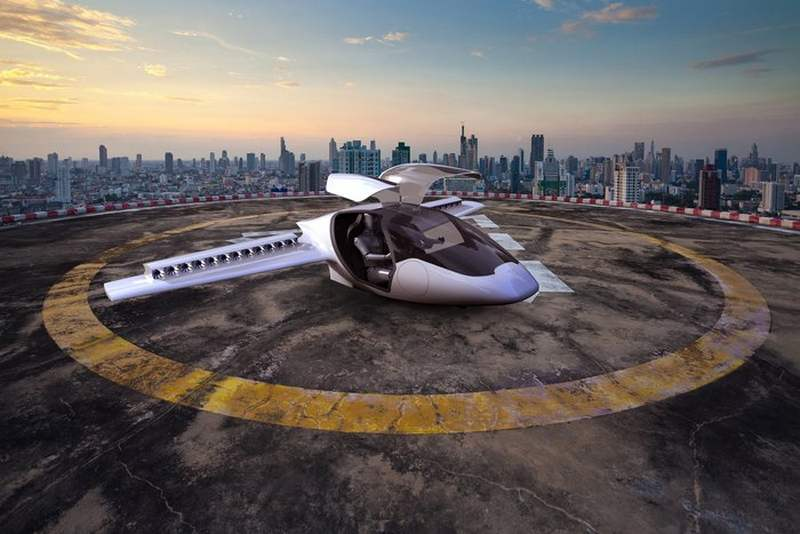 Lilium personal electric aircraft