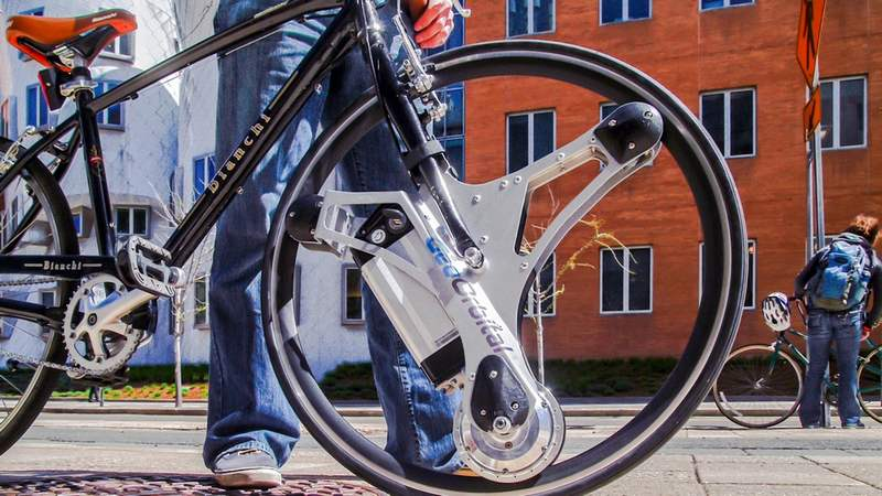 The GeoOrbital wheel Makes your bike electric (4)