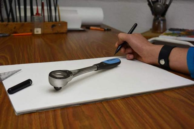 Mind Blowing 3D Drawings by Stefan Pabst (6)