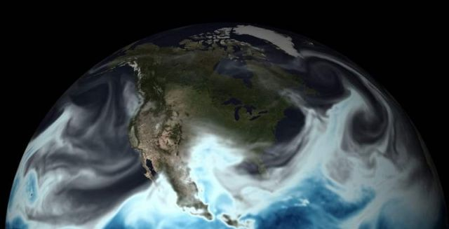NOAA's new 4D model of the world's weather