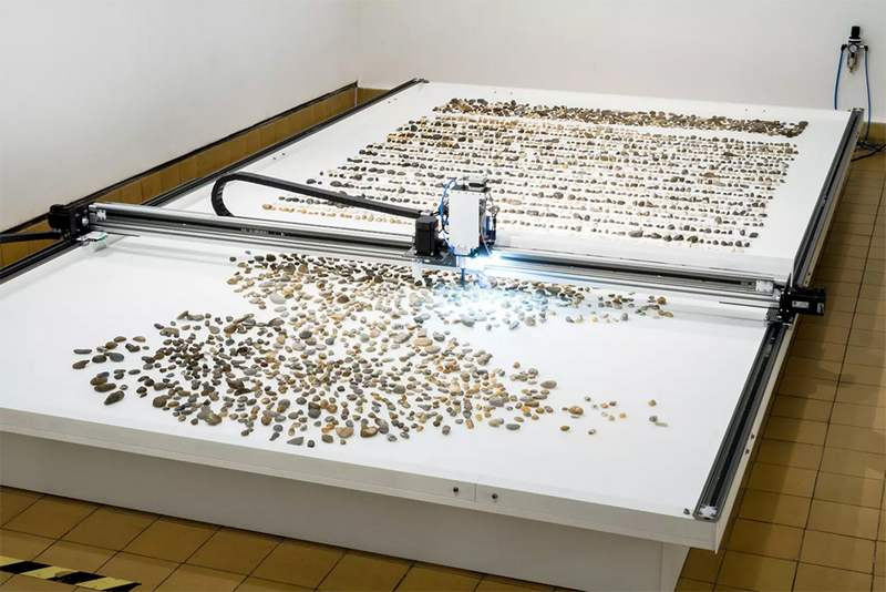 Robotic installation sorts Pebbles based on their Geological Age (5)