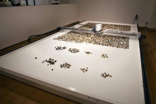 Robotic installation sorts Pebbles based on their Geological Age (3)