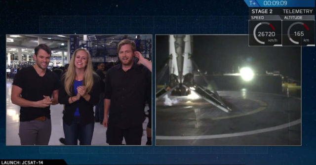 SpaceX made its second successful Rocket Landing on a Drone Ship